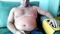 Daddy cum on the CAM SKYPE pornhub video