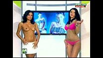 Goluri si Goale ep 15 Gina si Roxy (Romania naked news) video