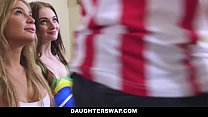 Daughters Lose Bet And Fuck Dads: DaughterSwap thumbnail
