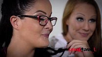 XXX Orgy with Cathy Heaven, Christen Courtney, Angel Blade & Dolly Diore GP115 thumbnail