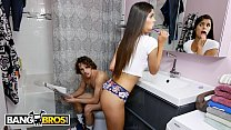 BANGBROS - On The Toilet When Roommate Katya Rodriguez Walks In