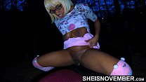 4k Msnovember Innocent Black Pussy Plundered In Forest By StepDad Where Her Mom Can't See xxx On Sheisnovember