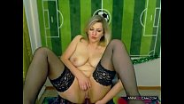 Blonde Russian masturbating on webcam - annasex...