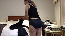 MATURE GREEK AUSSIE WIFE EKATERINI SHOWING OFF HER TAN LINED THICK ASS 2017