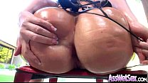 Big Ass Girl Get Oiled Then Deep Anal Nailed clip-03