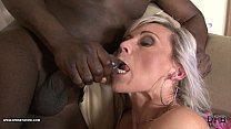 Teasing tight pussy interracial rough black anal fucking
