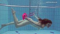Lera underwater big tits teen