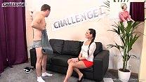 Naughty wife watching her husband fucks pornstar Mea Melone