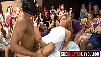 23 Cheating wives at underground fuck party orgy!37