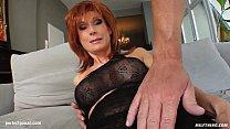 MILF hot mature lady Nina S gets a nice cock fu... Thumbnail
