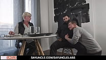 Teen Boy William Moore Lets Stepdad Markus Kage Pound Him In Front Of Mom