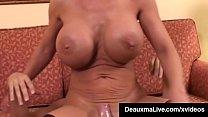 Hot Horny Cougar Deauxma Bangs Newbie Big Dick Keiran Lee! image