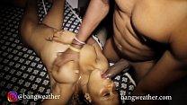 Ebony teen Nigerian  girl bites on her man's huge cock