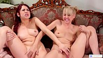 Milking MILF And Her Solo Friend Having Lesbian...