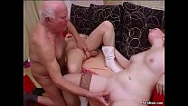 Crazy Granny Groupsex video