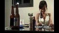 Korean amateur tease drinking party karaoke thumbnail