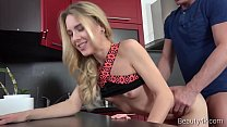 Beauty4k.com - Alecia Fox - Kitchen fuck for a slutty big-boobed