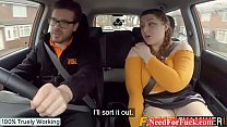 Dustin Zito Porn » English BBW rides her driving instructors big fat cock thumbnail