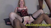 Sloppy Double BBC Creampie #2 thumbnail