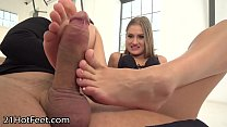 Image: FootsieBabes Pretty Toes are All Over Big Firm Dick
