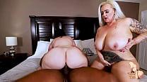 Download video bokep Big Tit Wives Kendra Kox and Virgo Fuck BBC Str... 3gp terbaru