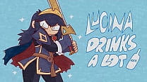Lucina Drinks A Lot Easter Eggs Uncensored (Patreon Only)