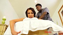 Black Masseur For Mature MILFs