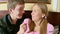 Bro Caught Petite Step-Sister and Show how get ...