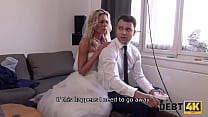 DEBT4k. Loan manager gives bride a chance of getting rid of her debt