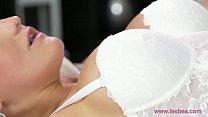 Lesbea Hot sensual sex and orgasms for big tits horny lesbians