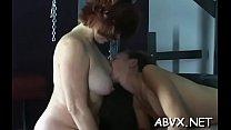 Extreme bondage for hot hottie