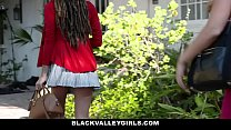 BlackValleyGirls- Hot Teen (Julie Kay) Steals and Fucks Boyfriend