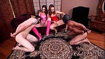 Brittany Shae & Lexi Luna Allow Slaves Fuck Them With Toys Vorschaubild