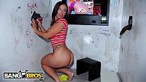 BANGBROS - Sexy PAWG Jamie Jackson Takes Multiple Cocks At Our Gloryhole thumbnail