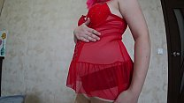 Pregnant milf seduces her with her juicy ass in...