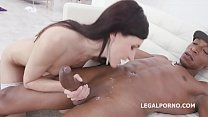 Balls Deep, Lina Arian is Back to Balls Deep Anal, Gapes, Creampie and Cum in Mouth GIO1165