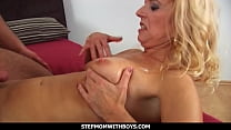 StepmomWithBoys - Mature Stepmom Doggystyle Fucked By Son