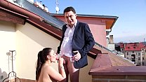mesmeratrix's husband Andrea Diprè make sex with a nice girl in Prague 2016