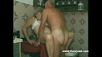 my grandparents sex in kitchen