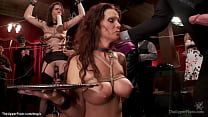 MILF anal fucked at bdsm party