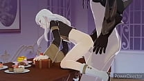 Fire Emblem 3 Houses Lysithea fucked by the Black Knight