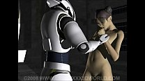 3D Animation: Robot Captive