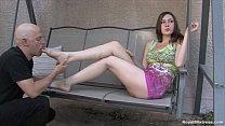 Mistress Megan - Femdom Foot Worship thumbnail