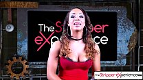 The Stripper Experience - Teanna Trump strip down and them get a hard fuck Image