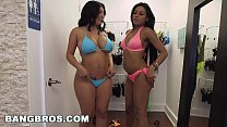 BANGBROS - Aaliyah Grey and Selena Adams Fuck Around with Sean Lawless (bkb14385