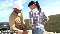 BANGBROS - Young Miranda Kelly Visits The Everglades In Search Of Giant Snakes Image