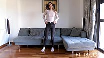 Fit18 - Anya Krey - 53kg - 173cm - Arab Teen  Loves Gagging Image
