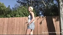 Hot blonde picked up off the streets and fucked