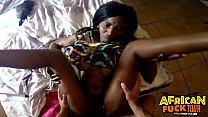 Ebony Hottie Akili Swallowing Big White Dick