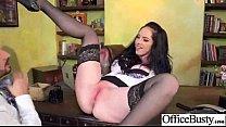 (bella maree) Busty Hot Office Slut Girl Love Hardcore Intercorse clip-04